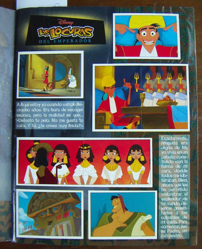 album las locuras del emperador