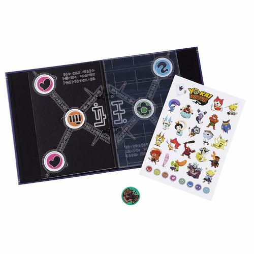 album libro coleccionador de medallas yo-kai watch version 2
