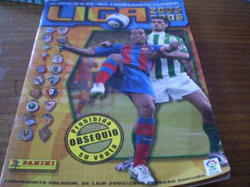 album liga española 2005-2006 (892