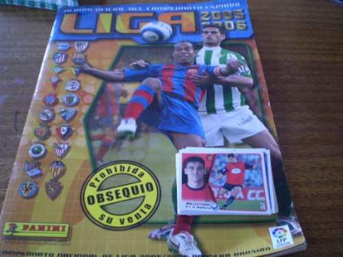 album liga española 2005-2006 (r631