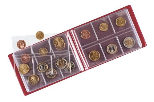album lindner de bolsillo para 48 monedas