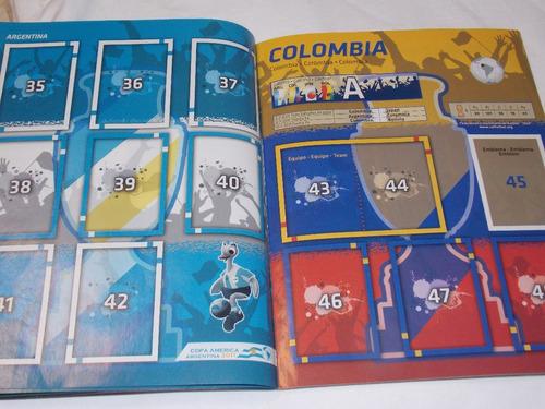 álbum livro ilustrado copa américa argentina 2011 vazio