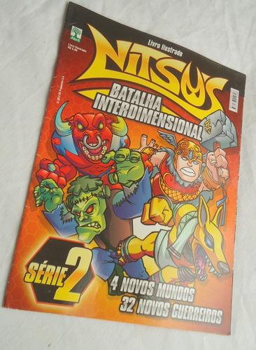 álbum livro ilustrado nitsus batalha interdimensional