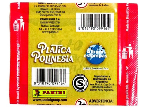 álbum los polinesios youtube + 30 sobres / don lámina