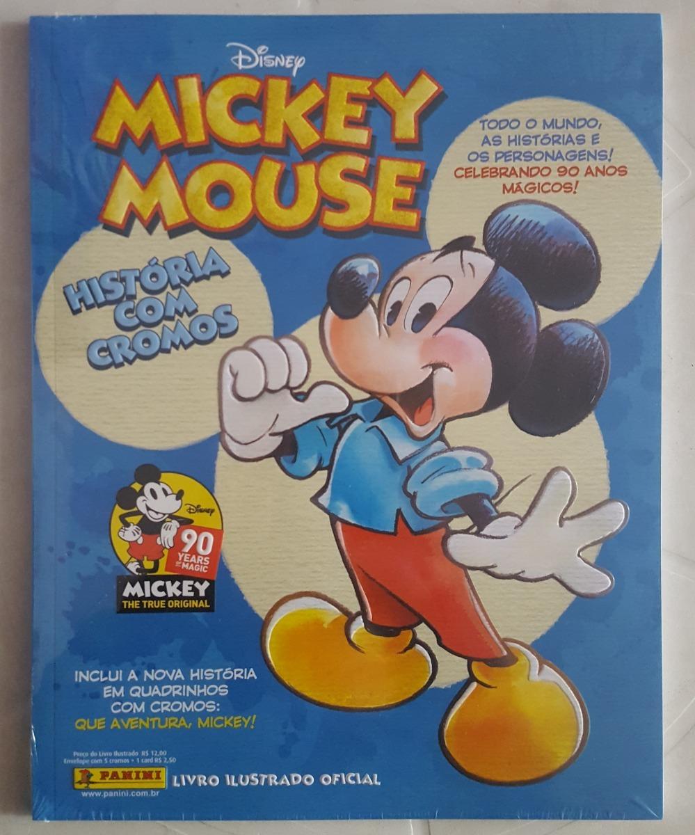 cc32e6e62 Álbum + Lote 150 Figurinhas Diferentes Mickey Mouse 90 Anos - R  89 ...