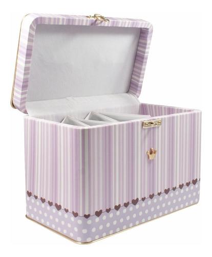 álbum maleta luxo princesa p/ 600 fotos 10x15  148602