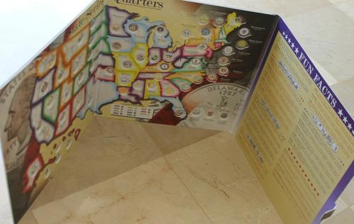 album mapa coleccionador whitman cuartos estados distr terri