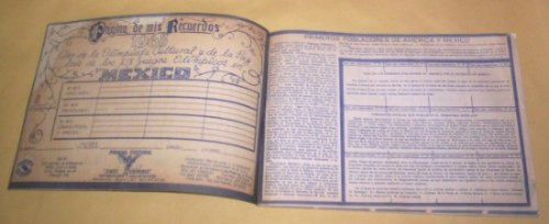 album mexico estampas historicas vacio