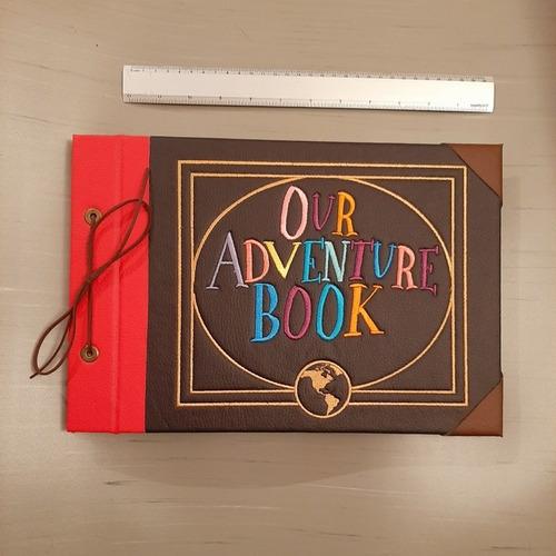 album  mi libro de aventuras (bordado, tamaño 34cmx24cm)