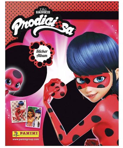 album miraculous prodigiosa lady bug + 70 figuritas panini