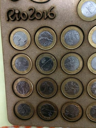 album moedas  olimpiadas rio2016 promoção