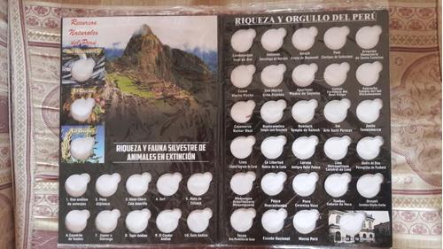 album monedas coleccion riqueza y orgullo x mayor y menor