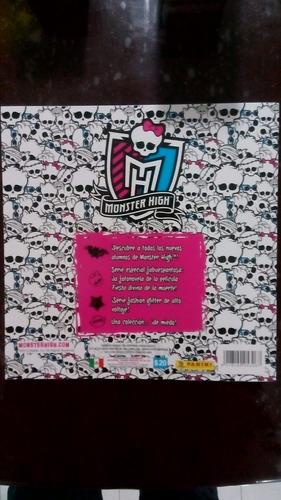 album monster high skull life panini 173 estampas sueltas