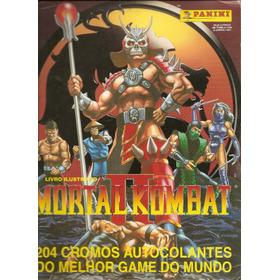 Álbum Mortal Kombat Completo - 204 Cromos