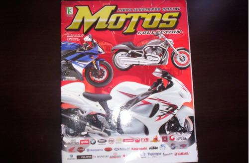 album motos collection, 216 figurinhas p/colar