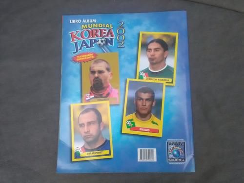 album mundial corea japon 2002 navarrete..korea