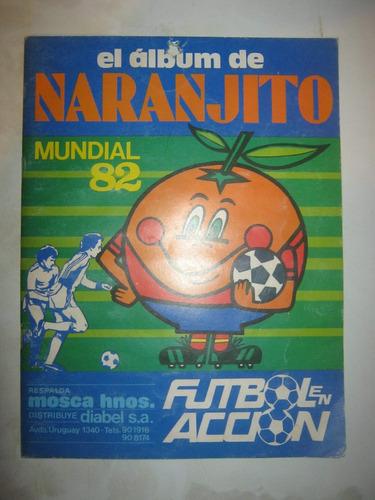 album mundial españa 1982 naranjito