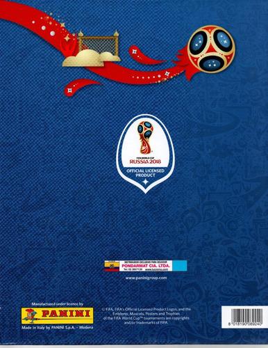 album mundial fútbol