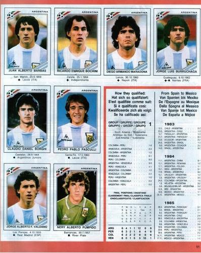 álbum mundial fútbol panini 11 mundiales 11 albums ultimos!