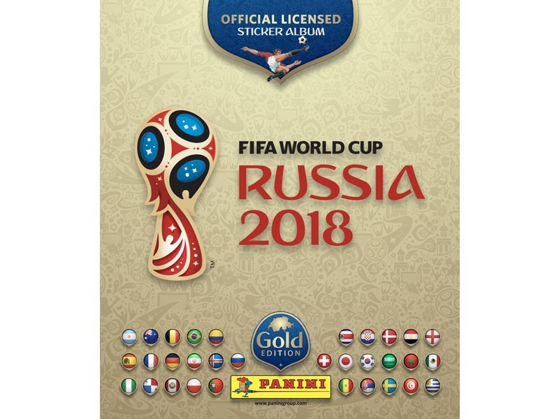 album mundial futbol rusia 2018 p blanda panini gold edition. Cargando zoom. ad27353baf489