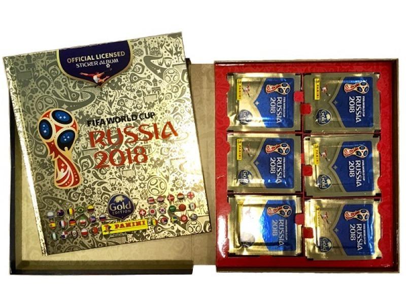 album mundial futbol rusia 2018 pas dura panini gold edition. Cargando zoom. 733f607b43b14