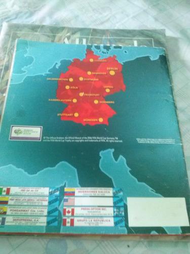 album mundial germany 2006 panini