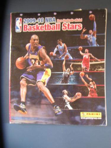 álbum  nba basketball stars  2009- 10