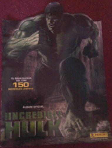 album oficial el increible hulk