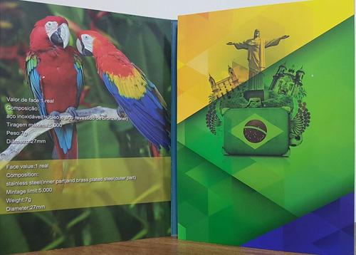 álbum olimpiadas c/16 cápsulas vazias sem espaço p/bandeira
