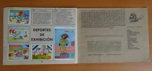 album olimpico de memin y sus cuates vid editorial semilleno