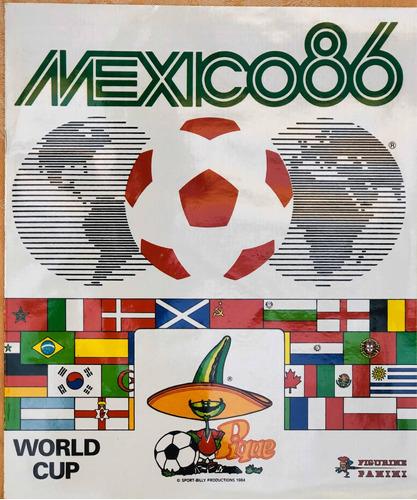 album panini completo mundial méxico 86 - colección nación