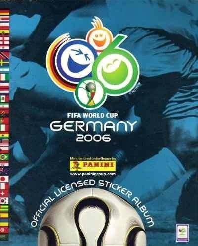 album panini germany 2006 falta una tarjeta, perfecto estado