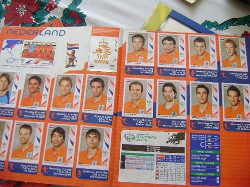 album panini lleno mundial 2006, copa america 2007 + cd's