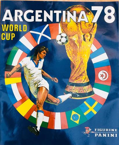 album panini mundial argentina 78 -  colección la nación
