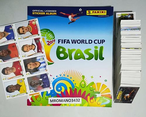 album panini mundial brasil 2014 completo