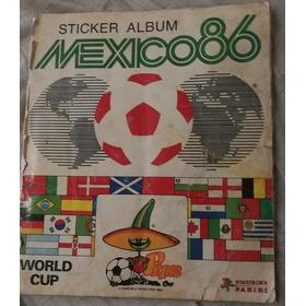 Album Panini Mundial México 86 Lleno