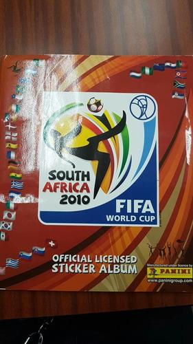 álbum panini mundial sudáfrica 2010