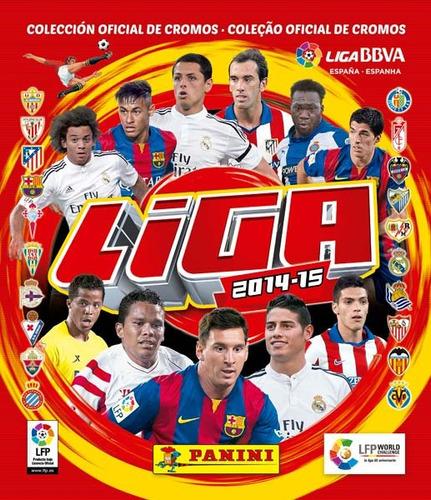 album panini oficial la liga española 2014 - 2015