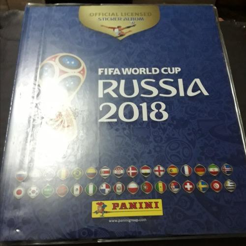 album panini russia 2018 tapa dura y paqueton s/230