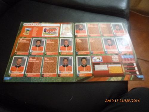 album panini  south africa 2010 -15 lam de la selección(901