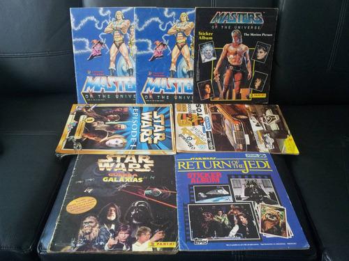 album panini star wars - guerra de las galaxias- año 1987