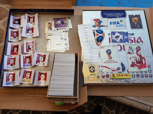 album panini tapa dura gold edition collectors completo