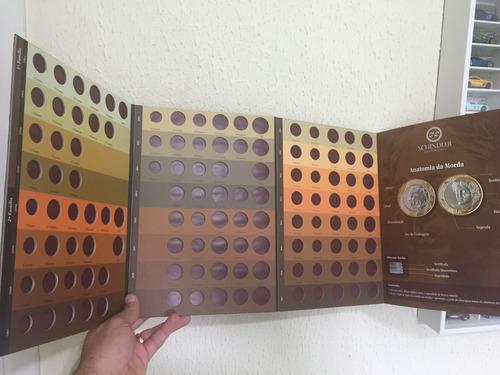 álbum para as moedas da família do real última edição!