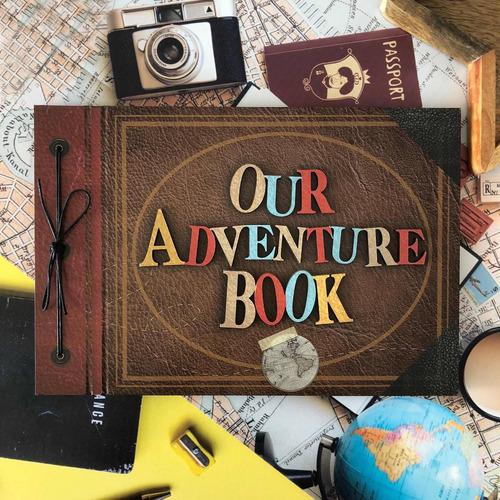 album para fotos our adventure book - versión 3d