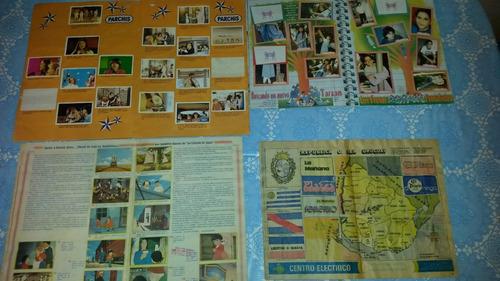 album  parchis ,chiquititas, marco y tierra mia son 4