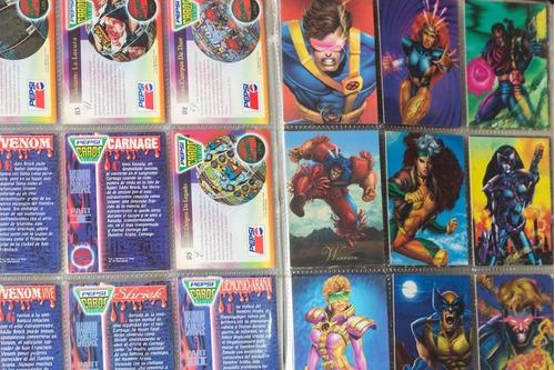 album pepsi cards vintage incluye 100 cards normales