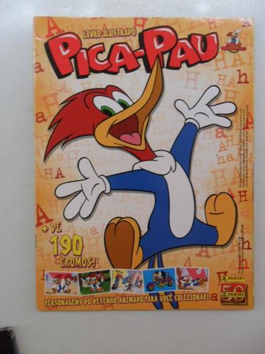 album pica-pau! completo! panini 2011!