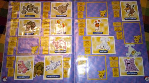 album pokemon de navarrete 1999