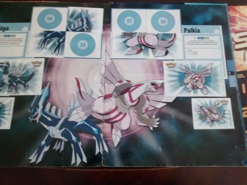 album pokemon diamond and perarl -para reciclar salo( 864