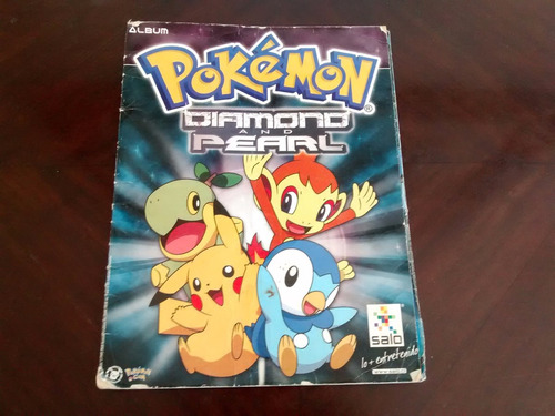 album pokemon diamond and perarl -para reciclar salo(r648